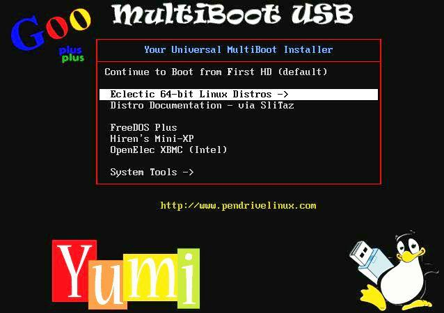 FreeDOS installer USB run new and old computer embedded system firmware updates